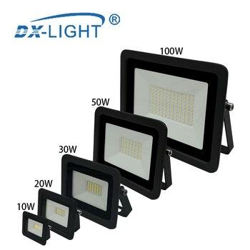 220V 230V 240V LED Engineering light 10W 20W 30W 50W 100W Work lights Street Lamp Reflector IP68 Waterproof Garden Square Light 1