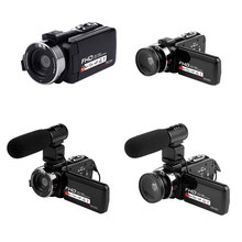 16X Digital Zoom Video Camera Camcorder 1080P HD WIFI Wide Angle Lens/Outer Micr
