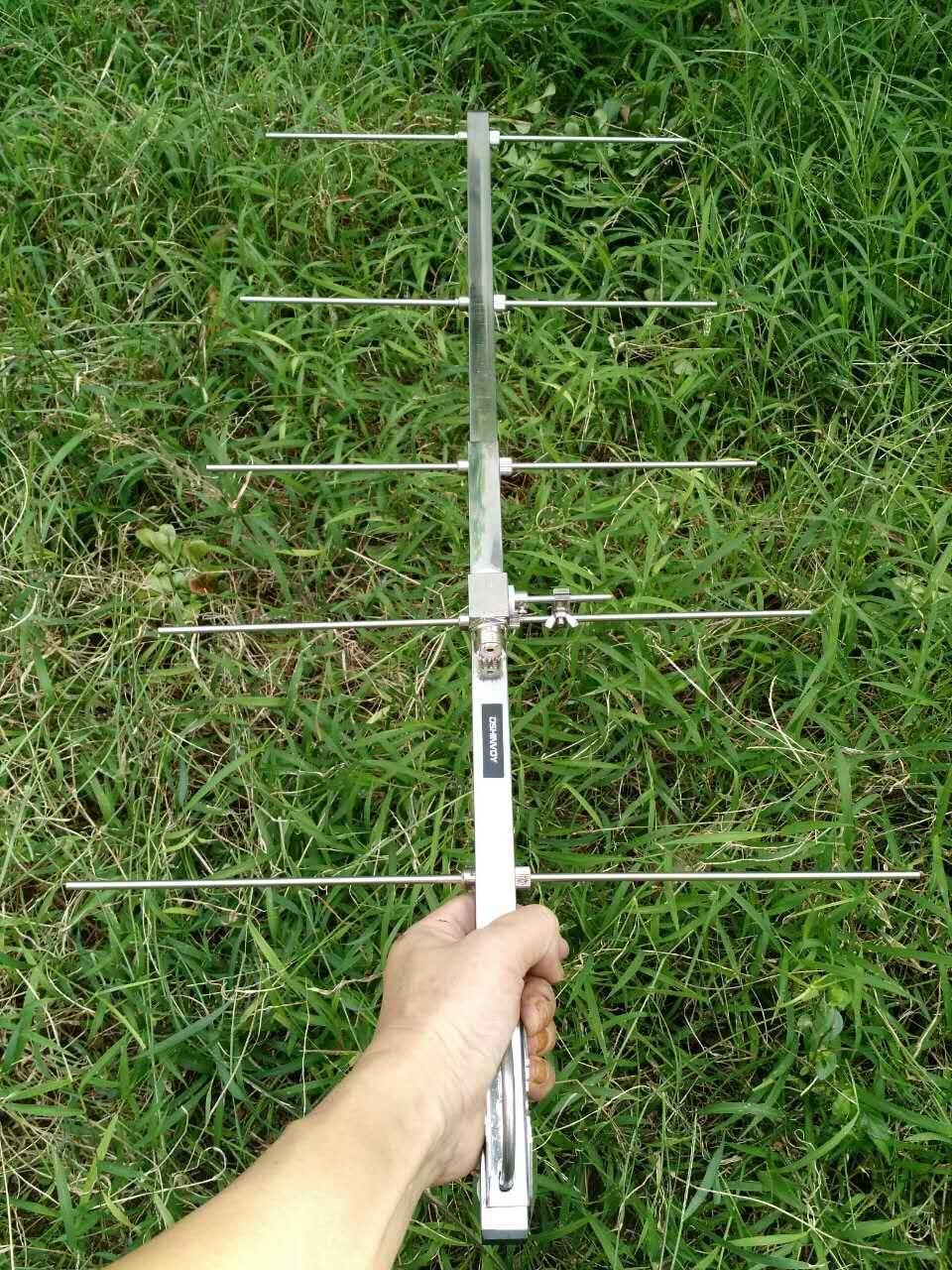 HAM 435M yagi антена 5елементи yagi на 433MHz 440mhz аматьор UHF ретранслатор базова станция yagi антена