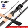 DMX PISTA 2 Section FUJI Fishing Rod Spinning Casting Travel Rod 7-42g 1.98m 2.10m 2.24 m Baitcasting ML M MH Fishing Rod
