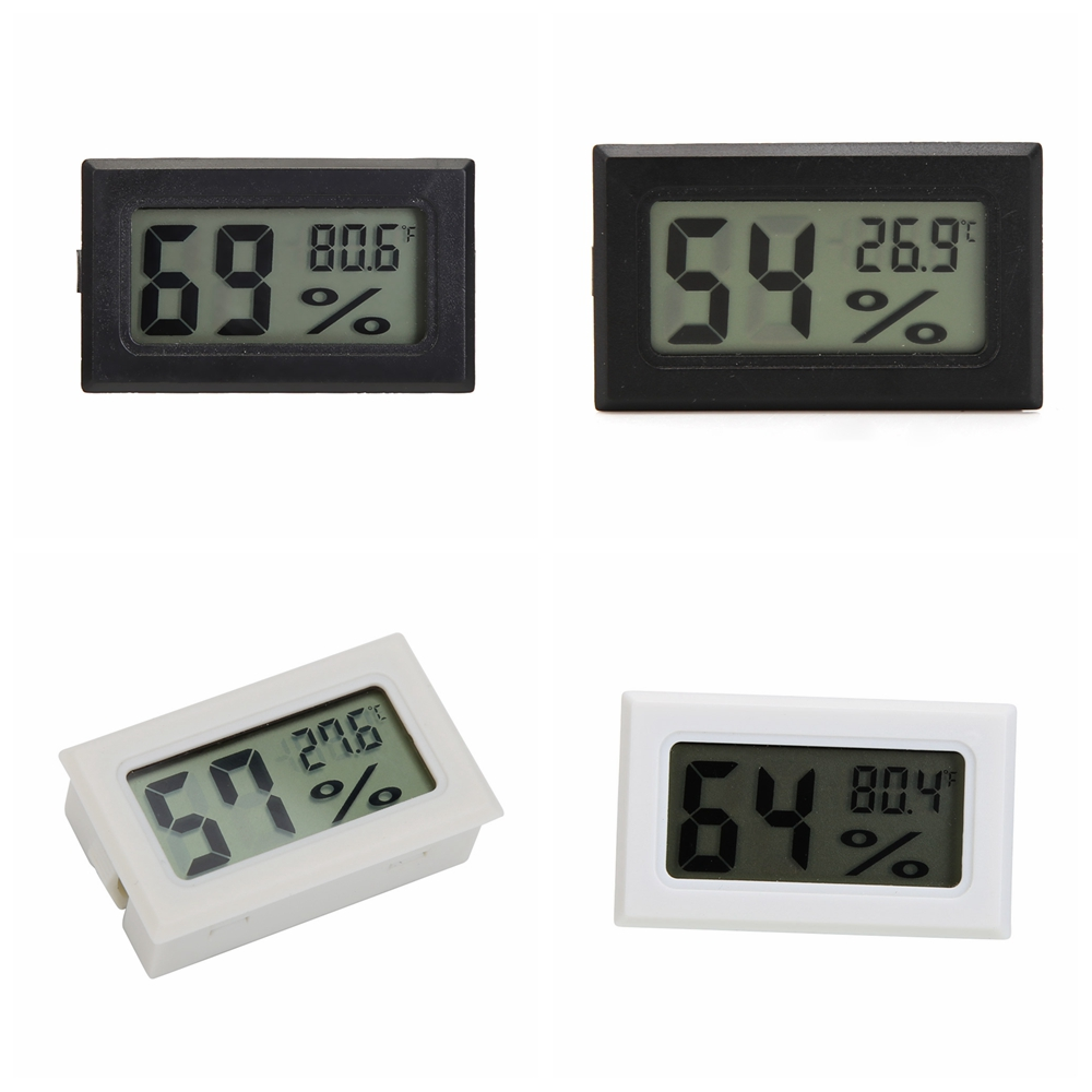 Mini Digital LCD Temperature Humidity Meter Indoor Thermometer Hygrometer Sensor Temperature Sensor Humidity