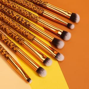 Image 3 - Docolor 12Pcs Makeup Brushes Cosmetic Powder Foundation Eyeshadow Make Up Brushes Set Hair Synthetic Makeup Brush