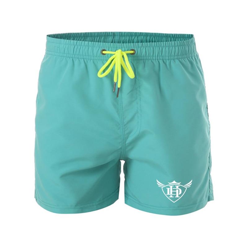 2019 Men,s Beach   Shorts   Swimming   Short   Swimwear Matching Wear Surfing Pants Swimsuits Men's Running   Shorts