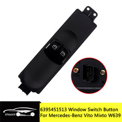 Car Front Electric Master Control Window Switch Button A6395451513 6395451513 For MERCEDES-BENZ VITO W639 Mixto Kasten 2003-2015