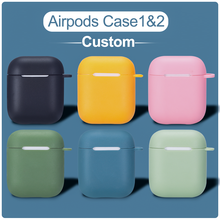 For Airpods DIY Case Custom Name Soft Silicon Wireless Earphone Charging Cover For AirPods Pro Cute Bluetooth Box Headset coque