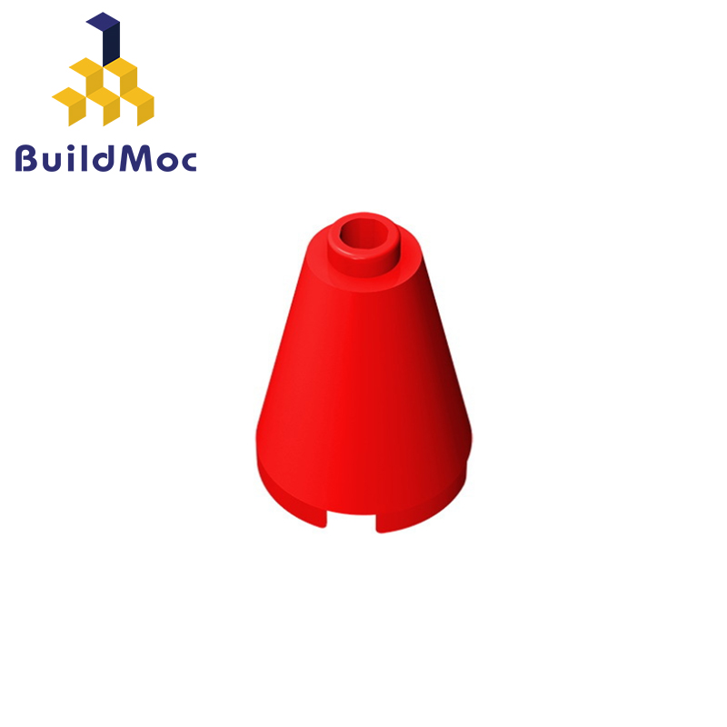BuildMOC 14918 Cone 2 X 2 X 2 Open Stud For Building Blocks Parts DIY LOGO Educational Creative Gift Toys