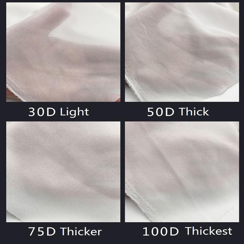 5 m/lote único rosto cola interfacing pano-forrado fusível interlining macio de seda fina tecido costura entretela adhesiva