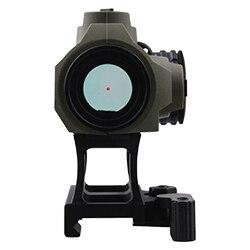 dot scope caça visão óptica terra escura