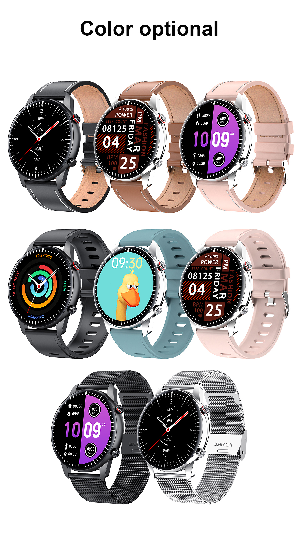 H7bbc5f6927514c52839637034f26cb48b 2021 NEW Smart Watch Women Men Full Touch Fitness Tracker IP67 Waterproof Smartwatch For Android Xiaomi Redmi