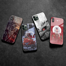 Funda de silicona para móvil, carcasa de cristal suave de Anime para iPhone 6 6s 7 8 Plus X XR XS 11 12 mini Pro Max
