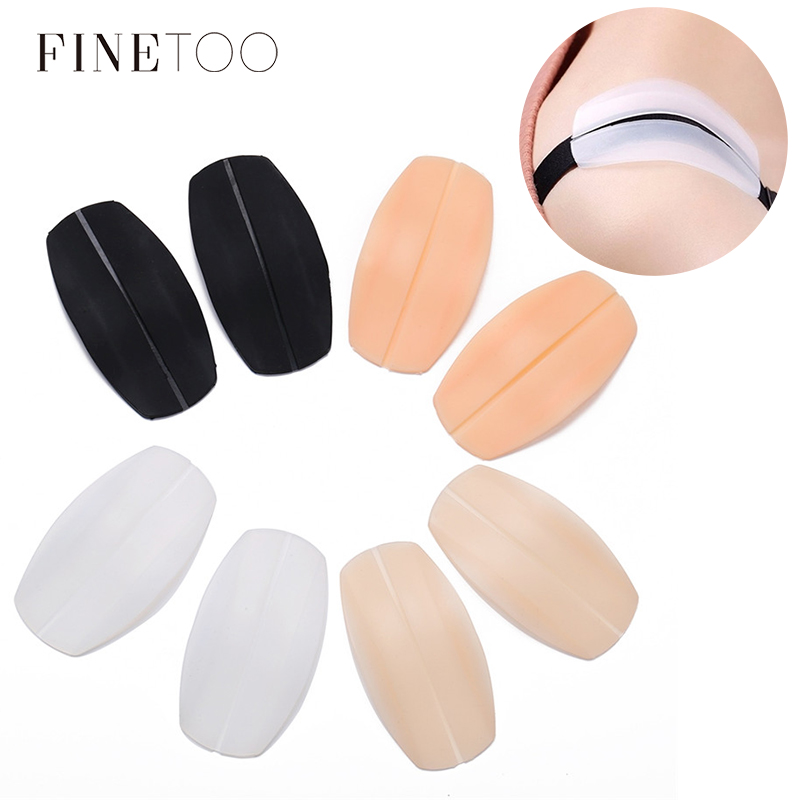 1 Pair Silicone Anti-skindding Shoulder Pads Bra Strap Protective Holder Relax Pressure Transparent Hollow Intimates Accessories