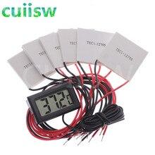 TEC1-12706 Термоэлектрический охладитель Пельтье TEC1-12705 TEC1-12710 TEC1-12703 40*40 мм 12V Пельтье Elemente модуль