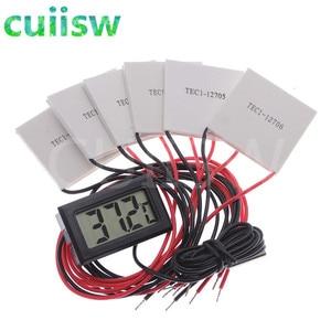TEC1-12706 Thermoelectric Cooler Peltier TEC1-12705 TEC1-12710 TEC1-12703 40*40MM 12V Peltier Elemente Module