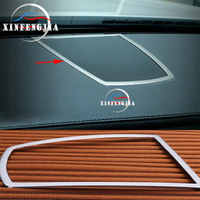 For BMW 7 Series F01 F02 10-15 Stainless Inner Middle Console Speaker Cover Trim