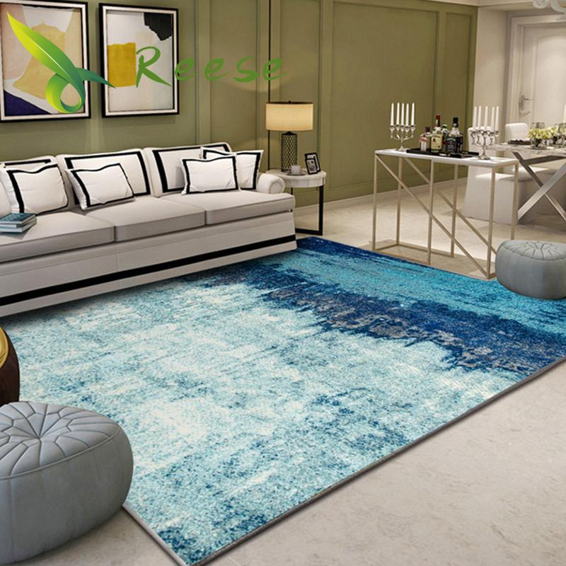 Alibaba Chinese-style Abstract Geometry Floor Carpets Rug Modern For Living Room Non-slip Antifouling Carpet For Bedroom Parlor