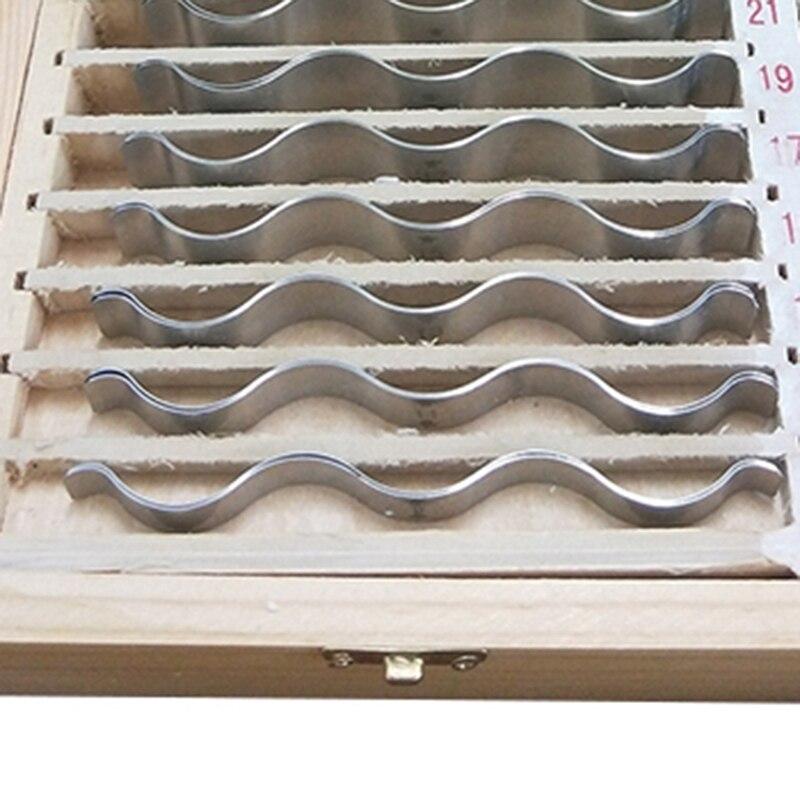 Accessoires de Machine-outil de fer parallèles ondulés métriques d'acier inoxydable pour l'ajustement - 5