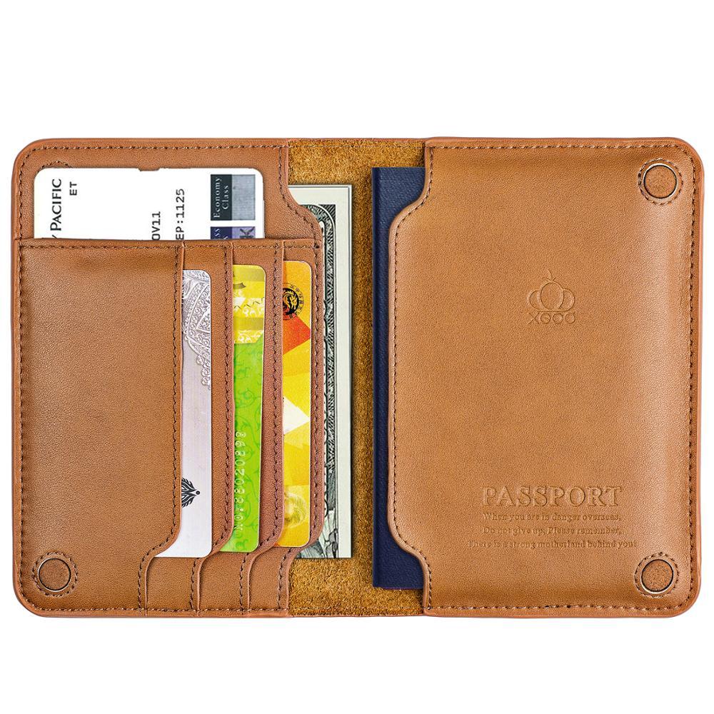 High Quality Genuine Leather Passport Holder Passport Cover