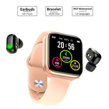 Hifi Bluetooth Earphone Tws Earbuds Earphones True Wireless Smart Watches Smartwatch Bracelet Band Wristbands Fitness Tracker