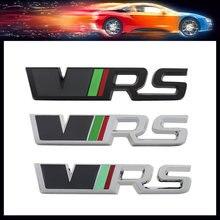 3D Sport VRS capot de voiture garde-boue coffre capot arrière plaque signalétique autocollant emblème Badge autocollant pour rapide Yeti Octavia Fabia