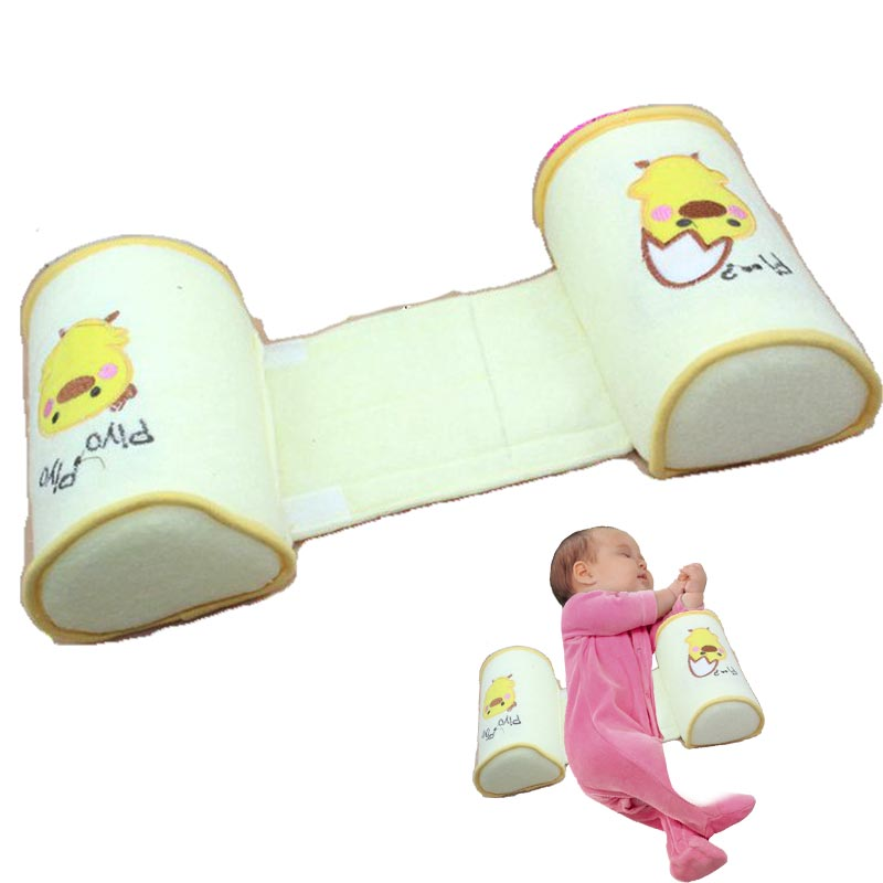 Hot Sale 2018 Anti Roll Baby Pillow Todder Adjustable Infant Anti-deviation Head Sweat - Absorbing Breathable Safe Sleep Head