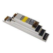 Ultra Thin LED Power Supply DC 12V 24V Lighting Transformers 2.5A 5A 12.5A 16.7A 33A 60W-400W AC190-240V Driver For LED Strips