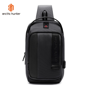 Image 5 - ARCTIC HUNTER 2019 USB Waterproof Men Chest Bag Male Leisure Messenger Shoulder Bag Crossbody Bolsas For Teenagers Travel