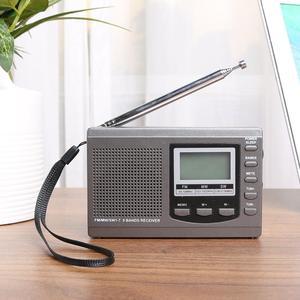 HRD-310 радио FM MW SW цифровой будильник FM-радиоприемник с наушниками