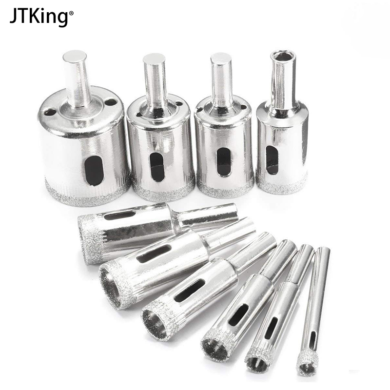 1Pcs 6-30mm  Diamond Drill Bit Tools Hole Saw Use For Marble Tile Bead Knife Glass Expander Woodworking Tool Bit