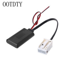 Car Wireless Audio Input Bluetooth Module Aux Receiver Cable Adapter for Volkswagen RCD210 RCD310 RCD510 12Pin CD Changer Socket