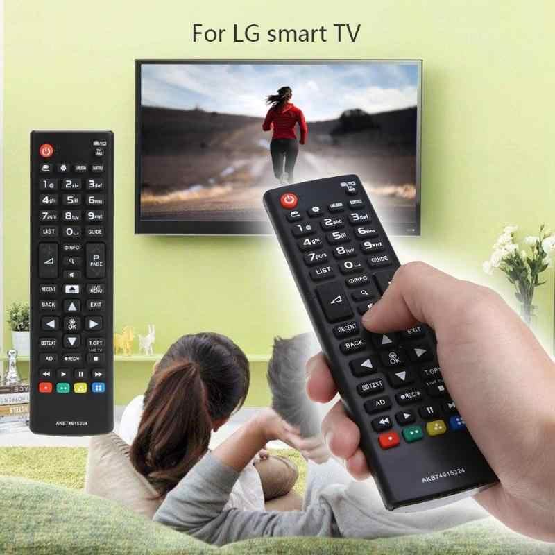 جهاز تحكم عن بعد تلفاز 433 ميجا هرتز لـ LG AKB74915324 LED LCD محمول للمنزل لاسلكي ABS بلاستيك للاستبدال جهاز تحكم عن بعد للتلفاز