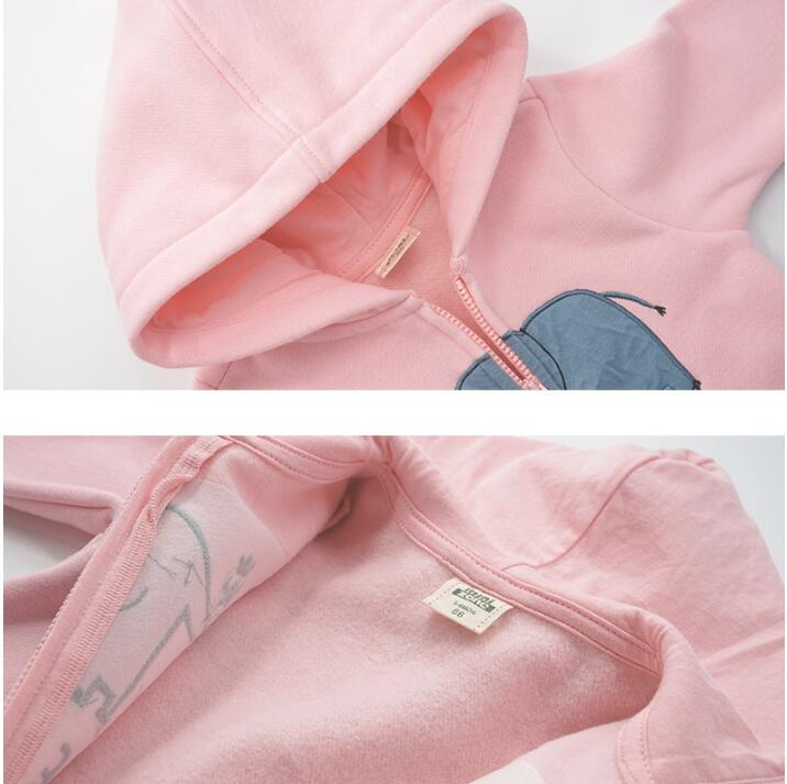 H7bbdd420e1614d73affeff816585a638D 2019 spring Baby rompers Newborn Cotton tracksuit Clothing Baby Long Sleeve hoodies Infant Boys Girls jumpsuit baby clothes boy