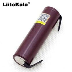 Liitokala Новый HG2 18650 3000mAh аккумулятор 18650HG2 3,6 V разрядка 20A, предназначенный для hg2 батареи + DIY никель