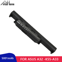 цена на PINZHENG Laptop Battery For ASUS A55v A32-K55 X75V k45 X45VD A85V A45V A45 A55 A75 K45 K55 K75 Series Laptop Bateria For ASUS