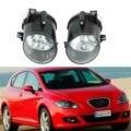 2 шт. автомобильный светильник для Seat Leon MK2 1P 2005 2006 2007 2008 2009 переднего бампера Туман светильник тумана светильник без лампочек