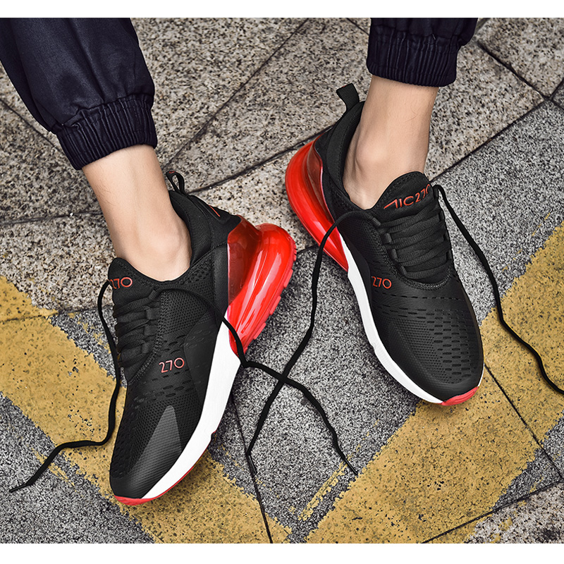 H7bbe647133774be181170331d365f8b34 Fashion Men Casual Shoes 2019 brand sneakers men Lightweight Lace-up Walking Sneakers trainer Male Footwear plus size 39-47