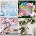 Macaron воздушный шар с цепочкой, украшение для детского душа, розовый воздушный шар для мальчиков и девочек, арочный комплект, воздушный шар, г...