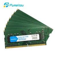 Pumeitou-Memoria RAM para ordenador portátil, 4GB, 8GB, 16GB, 2133, 2400, 2666MHz, 260 Pines, 1,2 V, 8G, 16G