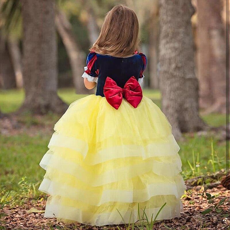 H7bbf0c8e63314eb894c810bb522d610aQ Aladdin Fairy Princess Costume Rapunzel Princess Dress Halloween Carnival Aurora Cosplay Dress up Kids Baby Anna Elsa Dresses