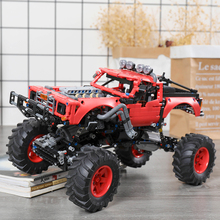 Toys Model Building-Blocks Remote-Controlled Brick-App Buggy Off-Road-Vehicle MOC All-Terrain rc