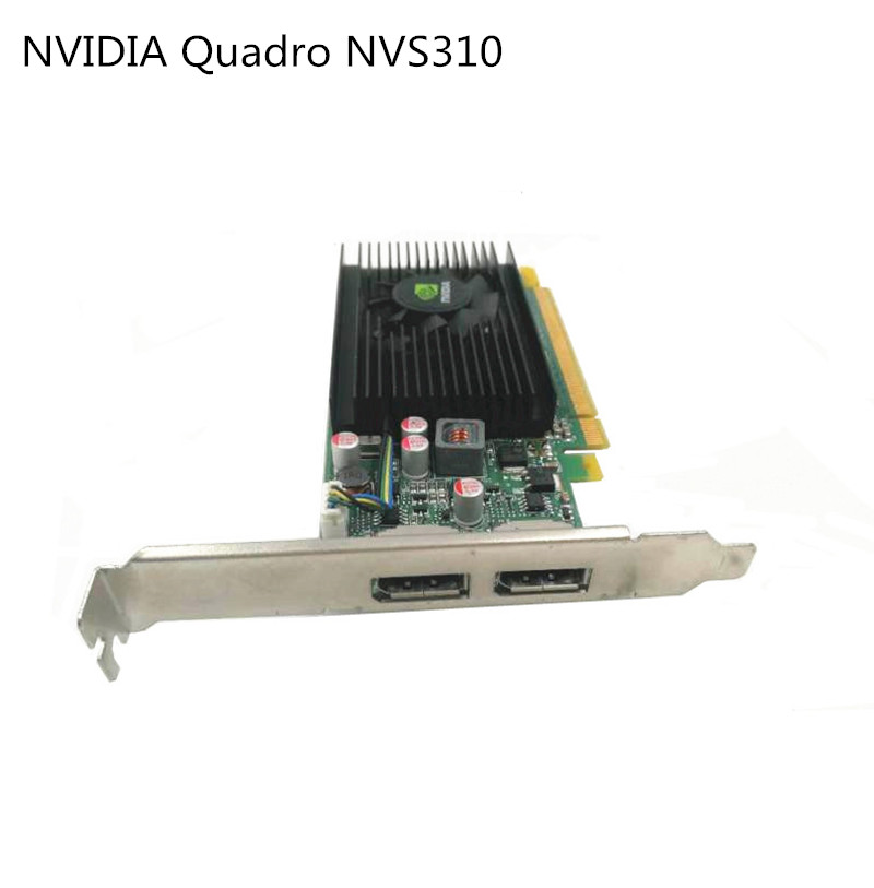 New Full Height Bracket for Nvidia Quadro NVS310 NVS295 with Screw US