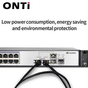Image 4 - 1m/2m/3m/5m/7m/10m SFP + 10 go câble DAC Module SFP 10G connexion directe Passive câble cuivre Twinax SFP Compatible avec Cisco