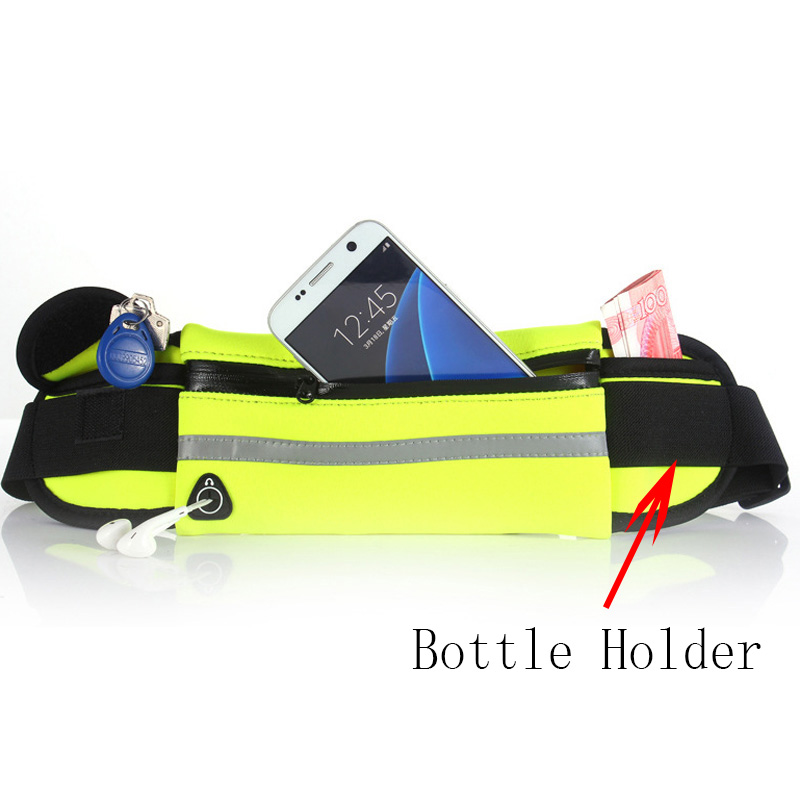 Image 4 - Running Belt Waist Phone Bag Running Bags Sport Pocket Jogging Pack Phone Pouch Wallet With Bottle Holder Anti theft aonijie-in Running Bags from Sports & Entertainment