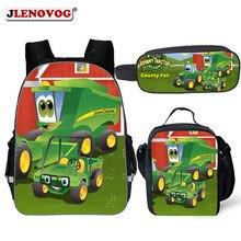 2019 Kids School Bag for Boys/Girls Tractor Schoolbag 11/14/