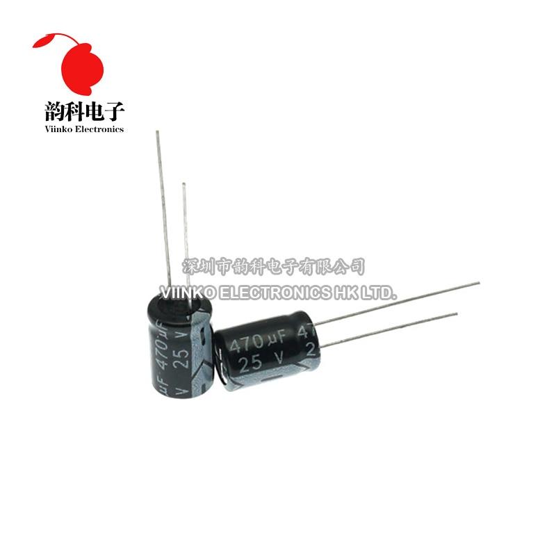 5pcs 20pcs 25V 1000uf Aluminum Electrolytic Capacitors Capacitor