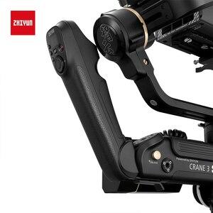 Image 2 - ZHIYUN oficjalny żuraw 3S E/Crane 3S 3 osiowy aparat DSLR stabilizator ręczny Gimbal ładunek 6.5KG do kamery wideo New Arrival