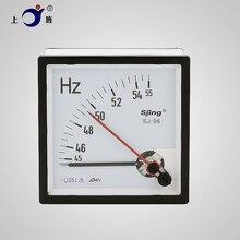 1 Uds doble aguja CP-96 CZ-96 SJ-96 AC 100V 220V 380V Frecuencia de mesa/medidor de Hz/Herzt de 45-55Hz 45-65Hz 55-65Hz