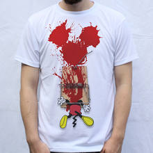Mickey Trapped T Shirt Design Mouse Trap(China)
