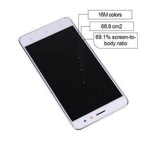 """Image 5 - 5"""" For Lenovo K6 Power LCD Display Touch Screen Digitizer Assembly With Frame K33a42 k33a48 For Lenovo K6 Screen Free Shipping"""