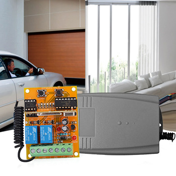 Dwa sposób bezprzewodowy odbiornik uniwersalny inteligentny pilot do drzwi garażowych kontroler 2 kanałowy pilot aplikacji sterowania System bezpieczeństwa tanie i dobre opinie MTSELECT CN (pochodzenie) garage door remote control 10cm 433 315mhz WiFi to RF Converter 0 08kg silver