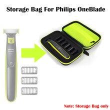 Hard Case Voor Philips Oneblade MG3750 7100 Scheerapparaat Accessoires Eva Reistas Trimmer En Scheerapparaat Case Reizen Beschermende Tas